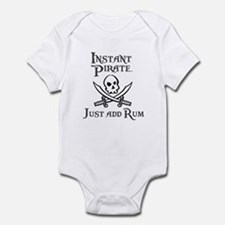 Instnt Pirate Just Add Rum Infant Bodysuit