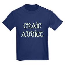 Craic Addict Irish Pun T