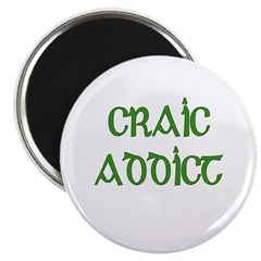 Craic Addict Irish Pun 2.25