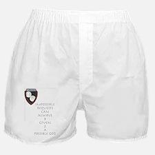 Given 2 God Boxer Shorts