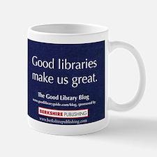 """Good libraries make us great."""
