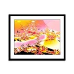 Morontia Shores Framed Panel Print
