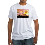 Morontia Shores Fitted T-Shirt
