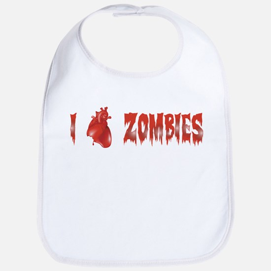 Zombie Love Bib
