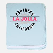 La Jolla Califronia baby blanket