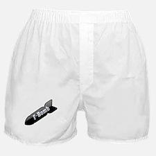 F-Bomb Boxer Shorts