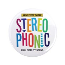 """Stereophonic 3.5"""" Button (100 pack)"""