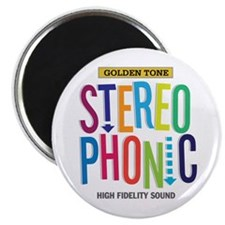 """Stereophonic 2.25"""" Magnet (100 pack)"""