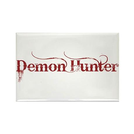 Demon Hunter dark red Rectangle Magnet