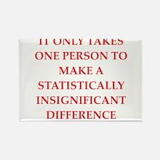 statistics joke Rectangle Magnet (10 pack)