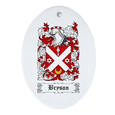 Bryson Ornament (Oval)