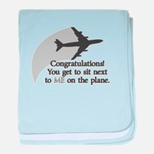 Airplane Ride Infant Blanket