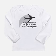 Airplane Ride Long Sleeve Infant T-Shirt