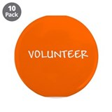 Volunteer button 10 Pack