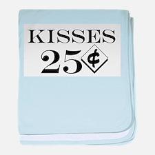 Kisses 25 Cents Infant Blanket