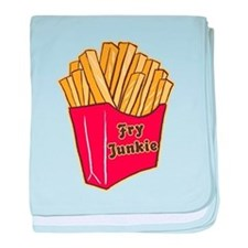 French Fry Junkie Infant Blanket