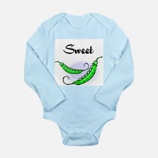My Sweet Pea Long Sleeve Infant Bodysuit