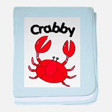 Crabby Infant Blanket