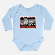 Pike Side Show Long Sleeve Infant Bodysuit
