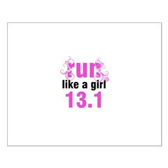 run like a girl 13.1 Posters