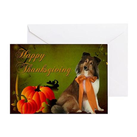 Thanksgiving Gracie Card