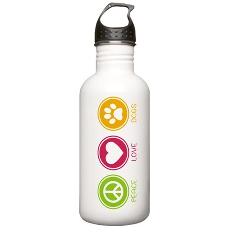 Peace - Love - Dogs 1 Stainless Water Bottle 1.0L