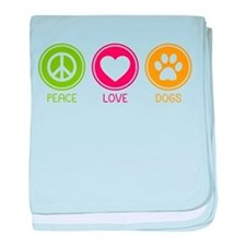Peace - Love - Dogs 1 Infant Blanket