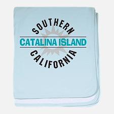 Catalina Island California baby blanket