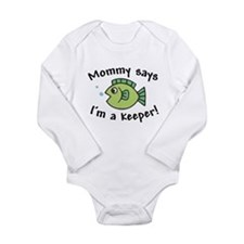 Mommy Says I'm a Keeper Onesie Romper Suit