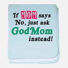 Just Ask GodMom! Infant Blanket