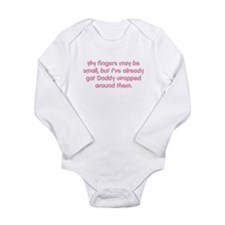 My Fingers May Be Small... Long Sleeve Infant Body