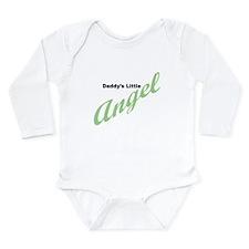 Daddy's Little Angel Long Sleeve Infant Bodysuit