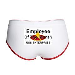 USS Enterprise Employee of th Women's Boy Brief