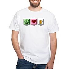 Peace Love Beer Shirt