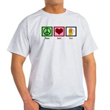 Peace Love Beer T-Shirt