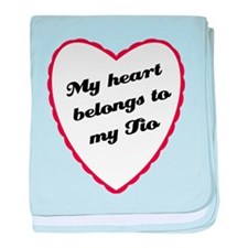 My Heart Belongs to My Tio Infant Blanket