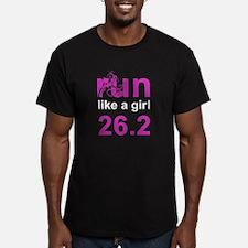 run like a girl 26.2 T