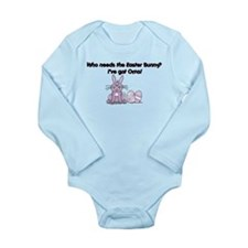 I've Got Oma! Long Sleeve Infant Bodysuit