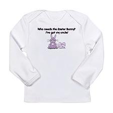 I've Got My Uncle! Long Sleeve Infant T-Shirt