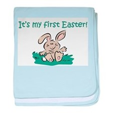 It's My First Easter Infant Blanket