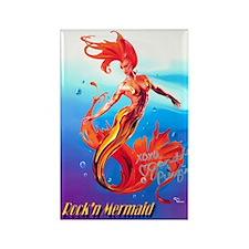 Rock'n Mermaid Magnet