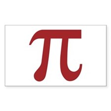 Pi Rectangle Decal