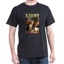 Antony and Cleopatra Black T-Shirt
