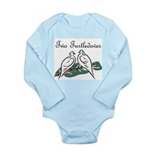 Second Day of Christmas Long Sleeve Infant Bodysui