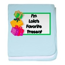 Lola's Favorite Present Infant Blanket