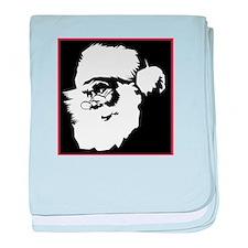 Pop Art Santa Infant Blanket