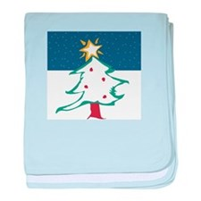 Snowy Tree Infant Blanket