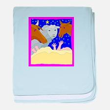 Manger Starry Night Infant Blanket