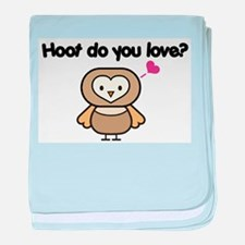Hoot Do You Love? Infant Blanket