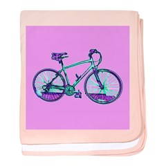 Bicycle Cycling Bike Cozy New Baby Infant Blanket